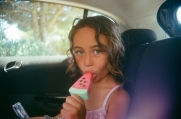 this photo was taken on our first visit to il de re. we had just finished half a day on the beach and were on our way to explore around the coast. these watermelon ice lollies were the greatest.